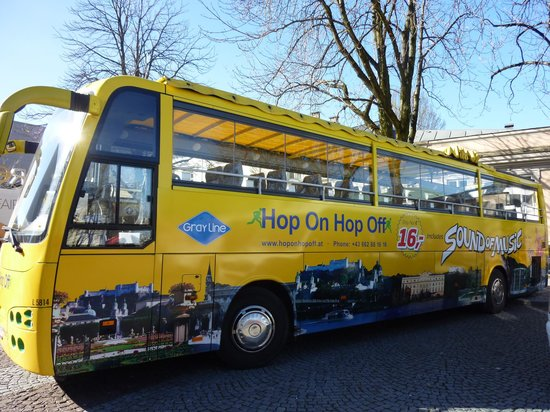 Hop On Hop Off City Tour Salzburg Austria Top Tips