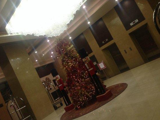 Mandarin Plaza Hotel: Холл1