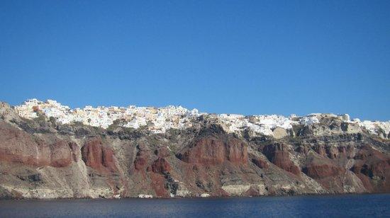 Amoudi Bay : caldera