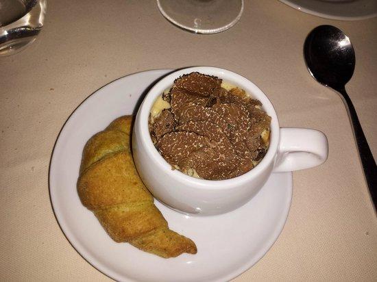 Il Ritrovo d'Abruzzo: cappuccino di foie gras