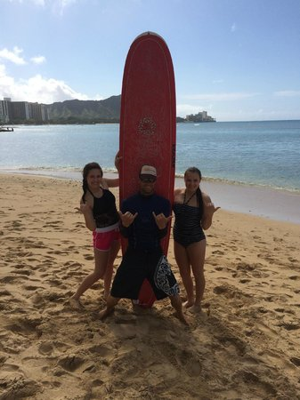 Gone Surfing Hawaii : after the lesson