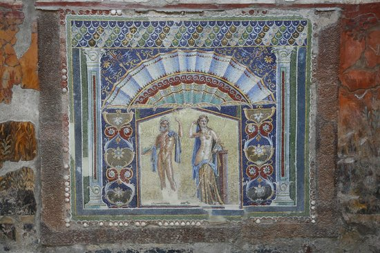 Ruins of Herculaneum: Мозаика