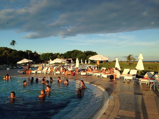 Club Med Trancoso: Sunset in the end of Summer.