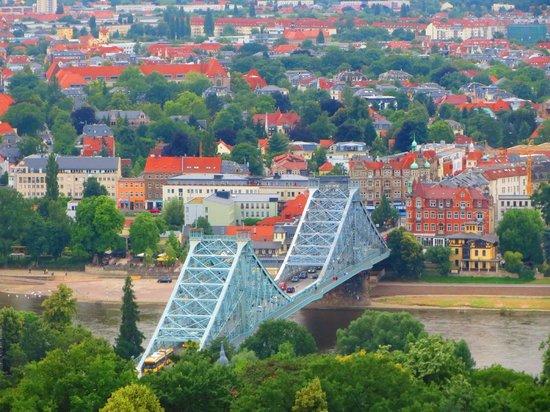 Staatliche Kunstsammlungen Dresden: Vista da cidade