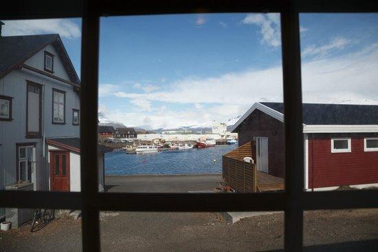Hotel Framtid: Вид из окна