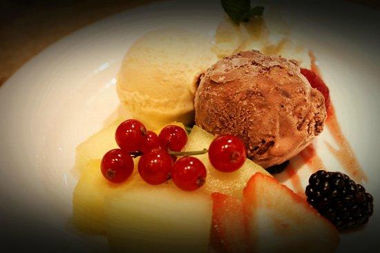 Hosokawa: Dessert of ice cream