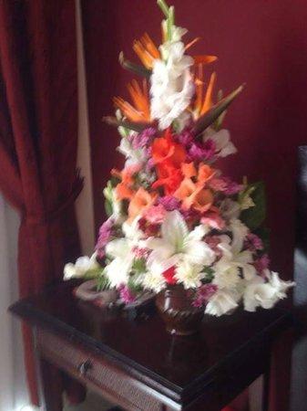 Panorama Naama Heights: Room Flowers