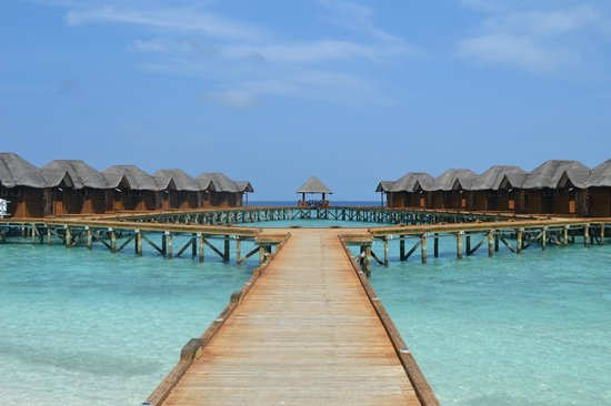 Fihalhohi Island Resort: Over water