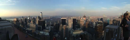 Observatorio Top of the Rock: Panoramic North from 'Top of the Rock'