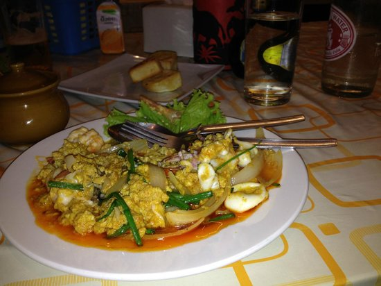 Friendly Kitchen Thai Food: Ännu en favorit seafood curry powder