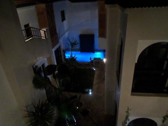 Riad Dar Nimbus : la piscine chauffée
