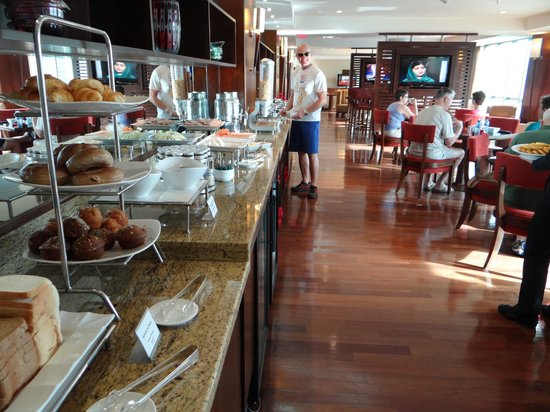 Panama Marriott Hotel : Breakfast in the executive lounge