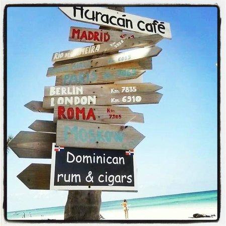 Huracan Cafe : LA SPIAGGIA