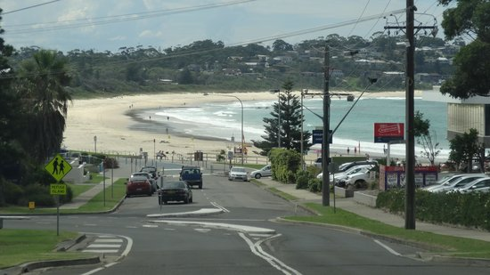 Mollymook Shores: front of the hotel