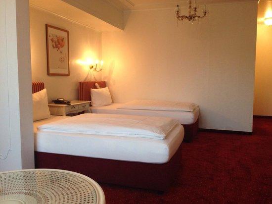 Brenner Hotel: Gemütliche Betten