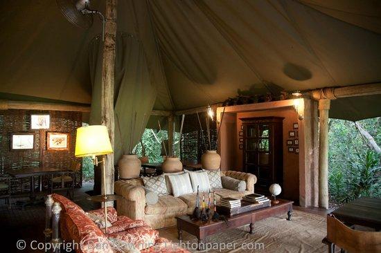andBeyond Bateleur Camp: Lobby