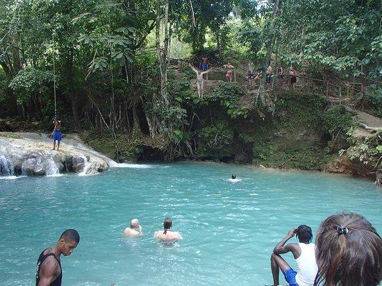 Jewel Dunn's River Beach Resort & Spa, Ocho Rios,Curio Collection by Hilton: Blue Hole - paradise