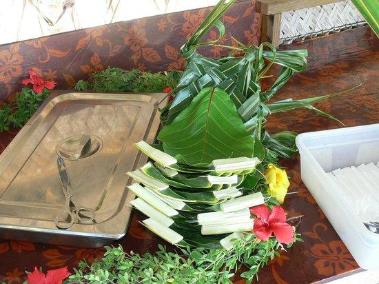 Lagoon Service : Assiette Polynésienne
