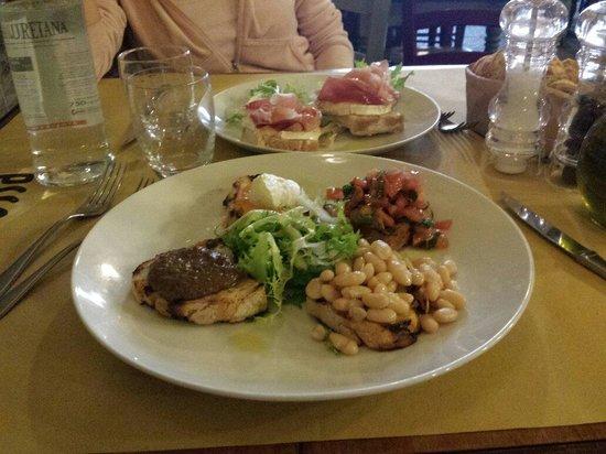 Osteria Cipolla Rossa: Beautiful antipasto toscano!!
