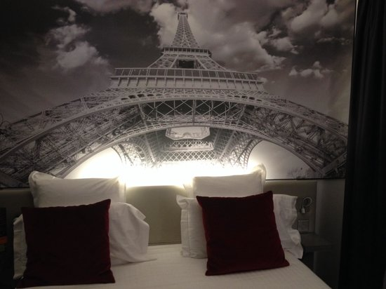 Hotel du Cadran Tour Eiffel : Our room