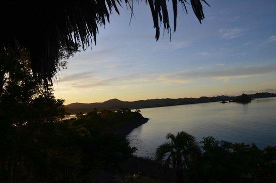 Domaine d'Eden de Nosy Be : au lever de soleil