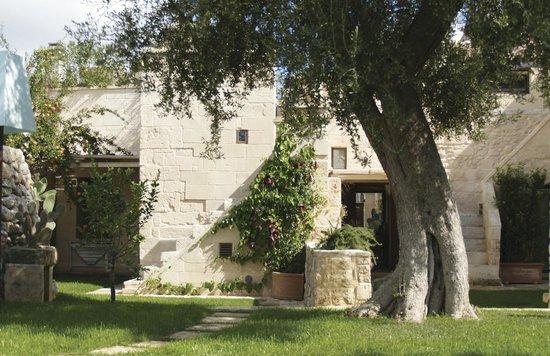 Casa Tabacchina : Vista dal giardino interno