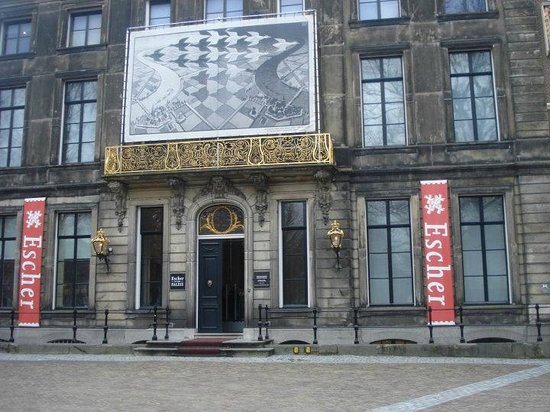 Escher-Museum (Escher in het Paleis): Entrance