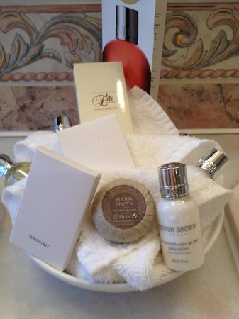 The Grand Hotel Eastbourne : bath amenities are Molton Brown