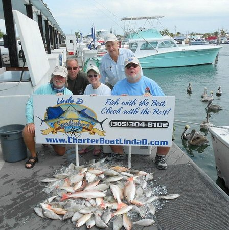 CharterBoats Linda D Sportfishing: Our crew