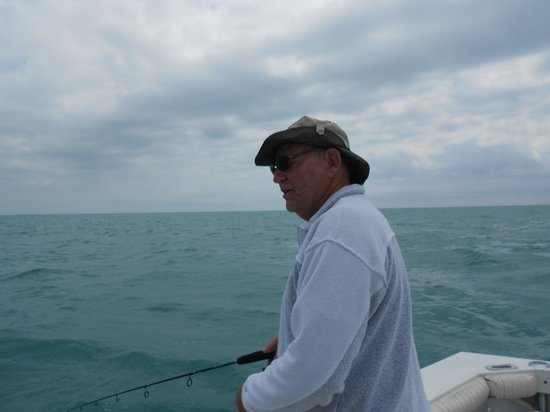 CharterBoats Linda D Sportfishing: Andy at work