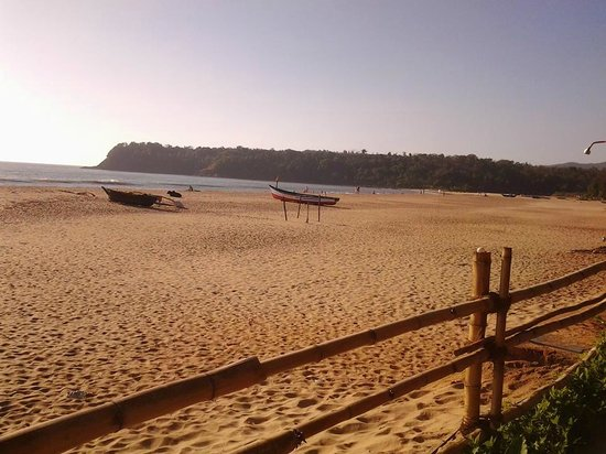 Agonda White Sand: The view first thing in the morning !
