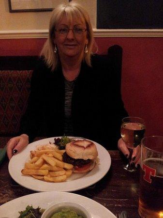 The Strathardle Inn: dinner