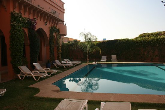 Albakech House : Pool area