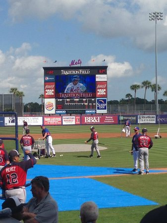 First Data Field: Tradition Field