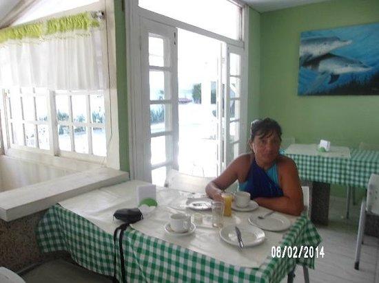 Buzios Colinas : desayuno