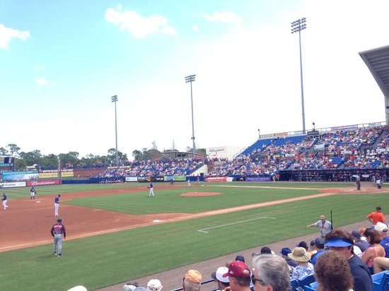 Tradition Field: view from section 112