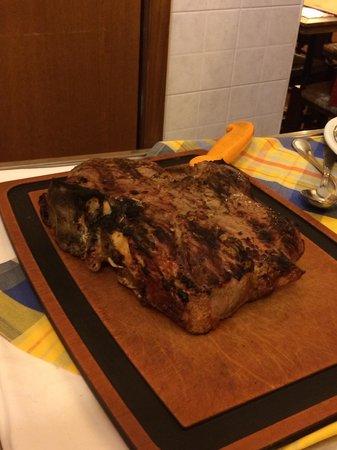 Osteria Il Mostrino : Bisteccona!