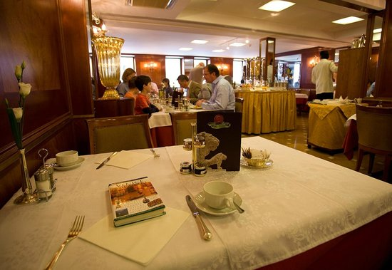 Hotel Concordia: The charming restaurant - for breakfast