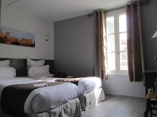 Hôtel Restaurant La Ferme : Chambre twin confort