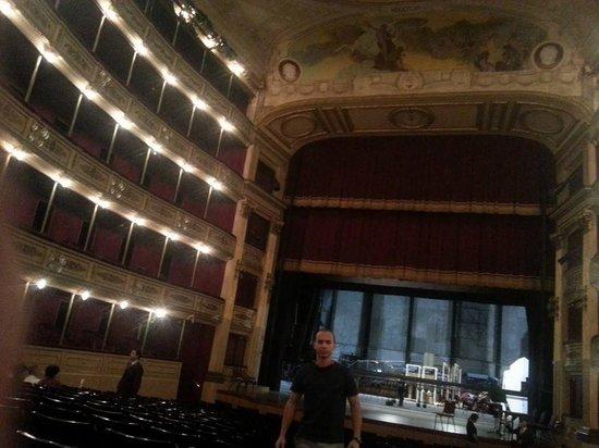 Theatre Solis: Dentro do teatro