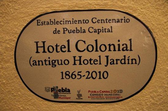 Hotel Colonial de Puebla : Logo