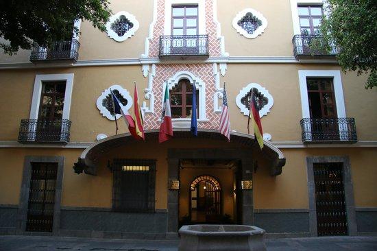 Hotel Colonial de Puebla : Main entrance