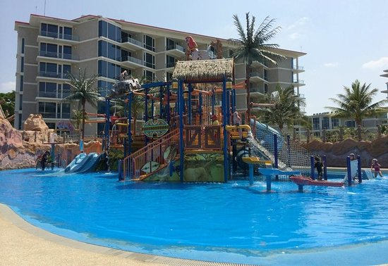 Splash Jungle Waterpark: เครื่องเล่นสำหรับเด็กๆ