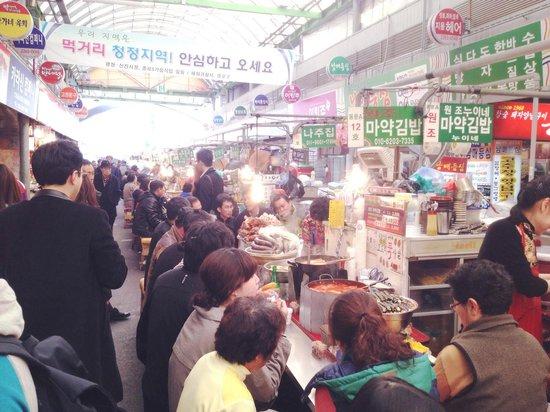 Gwangjang Market : Stalls