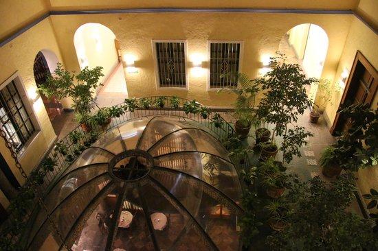 Hotel Colonial de Puebla: Over the dome