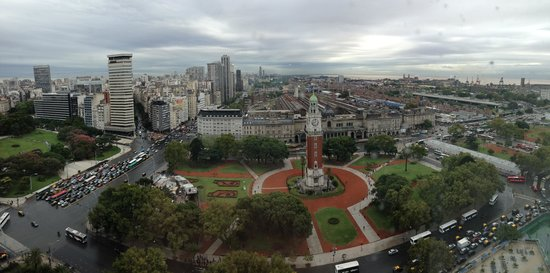 Sheraton Buenos Aires Hotel & Convention Center : View from Club level (23rd floor) room