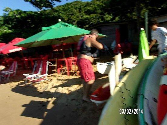 Tartaruga Beach : el lugar de comer