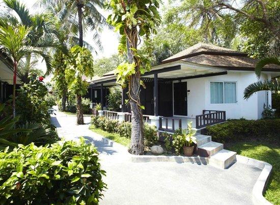 Chaweng Cove Beach Resort: Deluxe Garden Bungalow Exteria