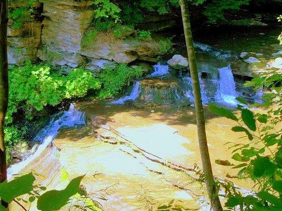 Letchworth State Park: wolf creek falls