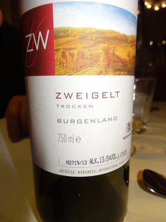 Postwirt: Red house wine